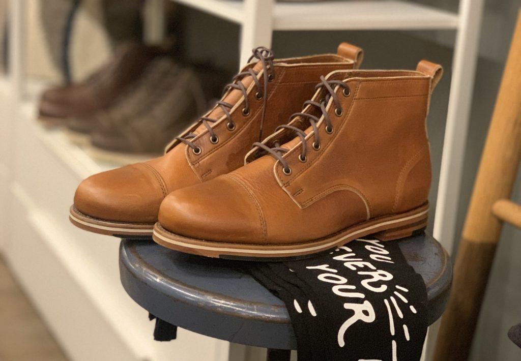 Helm Boots at Modern Anthology in Brooklyn—Made In USA Shoes and Boots