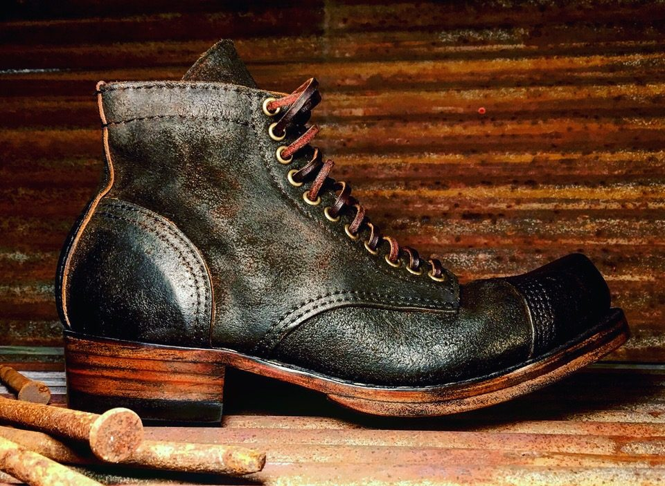 MYG Handmade Nail Shank Boot—Made In USA Shoes and Boots