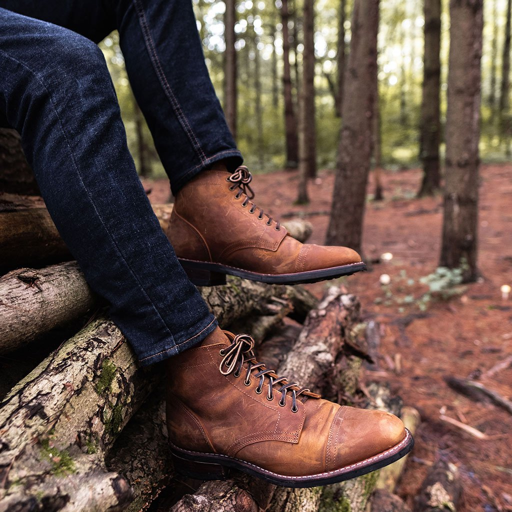 Thursday Vanguard Boot in Burnt Copper—Made In USA Shoes and Boots
