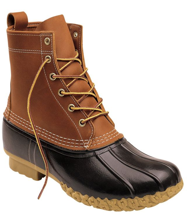 LL Bean Duck Boot—Made In USA Shoes and Boots
