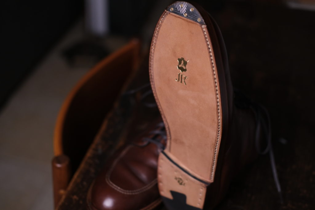 Alden Indy Resole JR Double Leather
