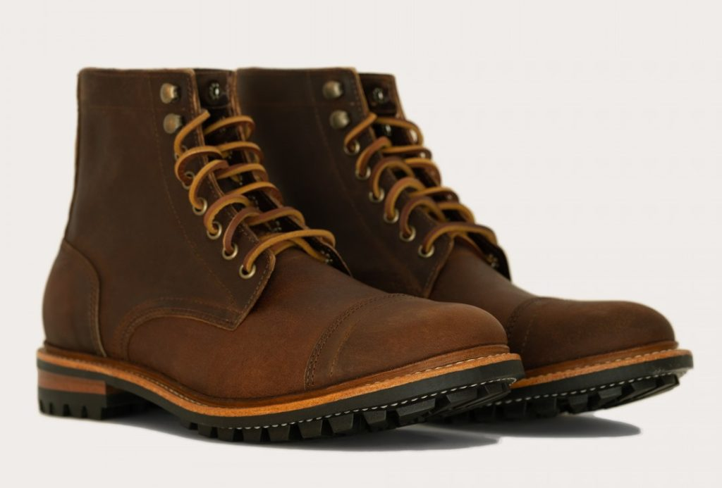 Oak Street Bootmakers Trench Boot in Rowdy Tobacco