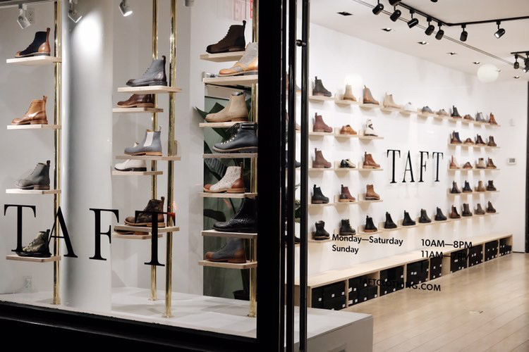 Taft Shoes and Boots—Soho Store