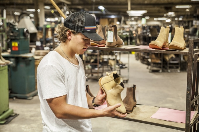 Mark Albert Boots — Mark Barbera In the Factory