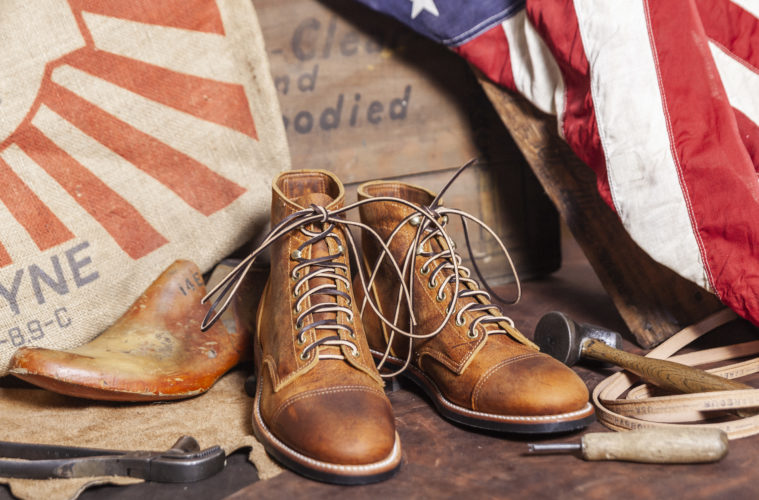 Mark Albert Boots Made In USA Hero