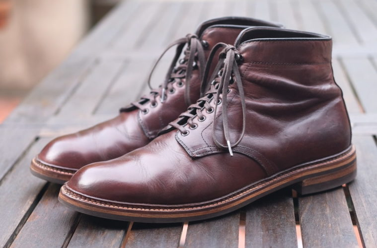 Alden Roy Plain Toe Boot With Dainite Outsole