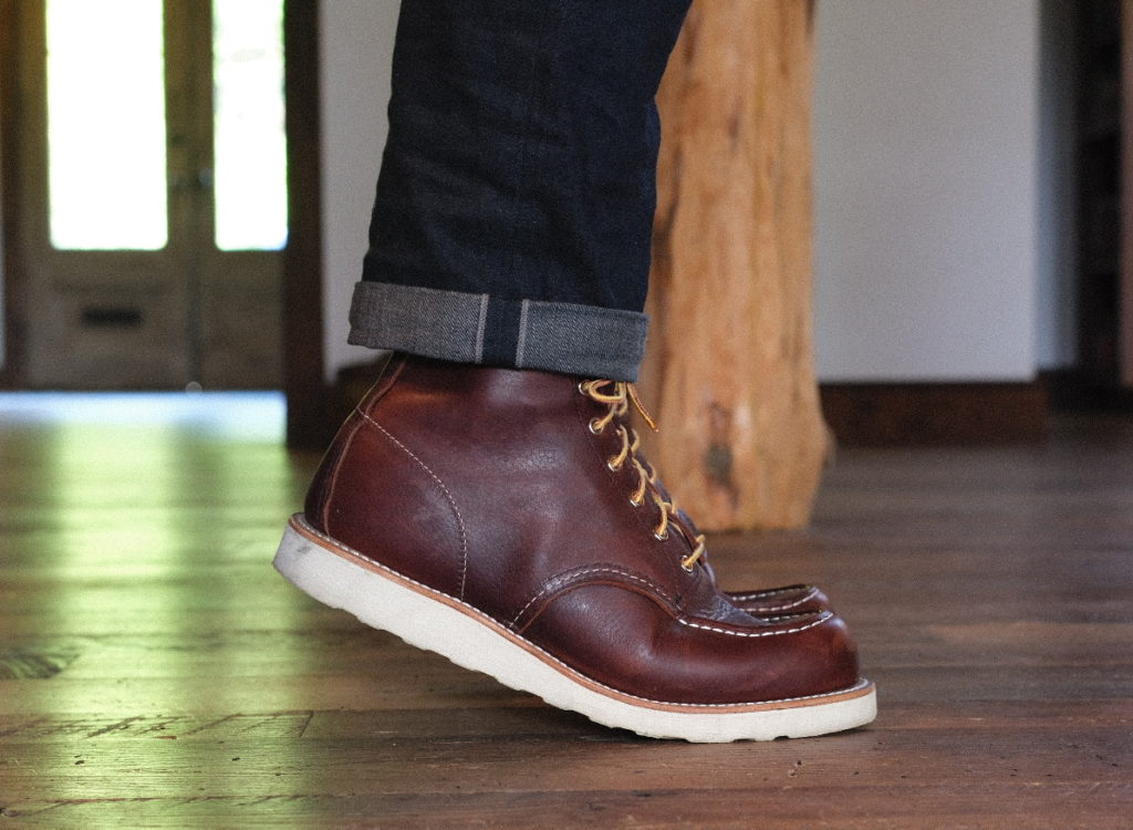 Red Wing Moc Toe Boot Review—8138