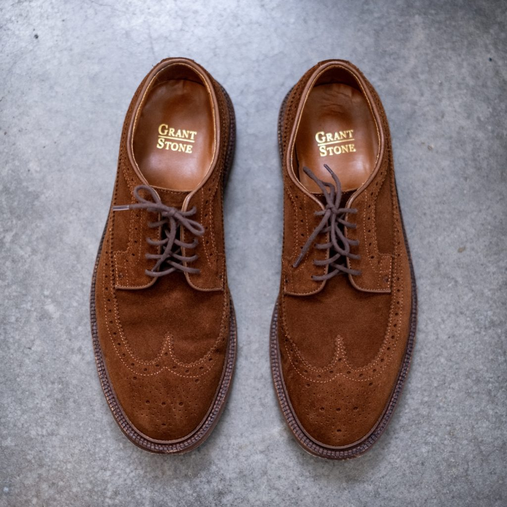 Grant Stone Longwing Snuff Suede
