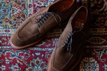Alden Mentor Blucher Brogue