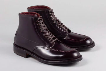 Alden x The Stronghold Color 8 Shell Cordovan Handstitched Indy Boot