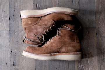 Whites Boots 350 Cruiser Distress Roughout8