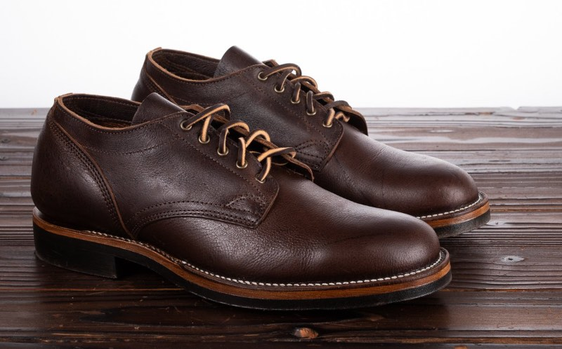 Viberg 145 Oxford - Snuff Naked Kudu - 1035