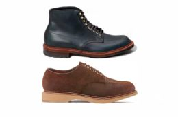 alden indy boot navy CXL udd frost_navy_cxl_alden_reverse chamois indy shoe