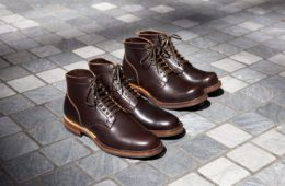 Viberg service boot wooly brown