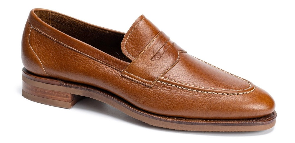 meermin penny loafer cognac softcalf